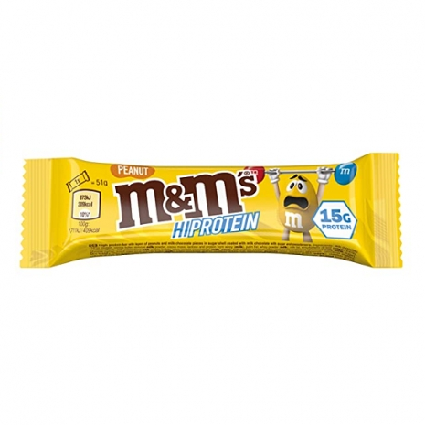 Peanut M&M´s Hi Protein Bar